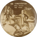 Political:Pinback Buttons (1896-present), William Jennings Bryan: Phenomenal Campaign Button from 1900....
