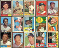 Baseball Cards:Lots, 1960-1962 Topps Baseball Collection (286) With Many HoFers. ...