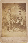 Photography:Cabinet Photos, George Armstrong Custer with Russian Grand Duke Alexis. ...