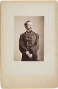 Photography:Cabinet Photos, George Custer: Unusual Cabinet Card....