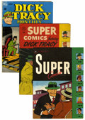 Golden Age (1938-1955):Miscellaneous, Miscellaneous Golden Age Group (Various Publishers, 1940s-50s).... (Total: 8 Comic Books)