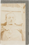 """Photography:CDVs, Harvey Logan, A.K.A. """"Kid Curry"""": A Rare Postmortem Original Photo of This Notorious Outlaw...."""