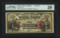 National Bank Notes:West Virginia, Grafton, WV - $20 1875 Fr. 434 The First NB Ch. # 2445. ...
