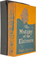 Books:First Editions, Jack London. The Mutiny of the Elsinore. New York: TheMacmillan Company, 1914. First edition. Yellow cloth stamped ...