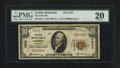 National Bank Notes:Kentucky, Corbin, KY - $10 1929 Ty. 1 The First NB Ch. # 7544. ...
