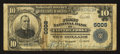 National Bank Notes:Virginia, Clifton Forge, VA - $10 1902 Plain Back Fr. 634 The First NB Ch. #6008. ...