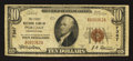 National Bank Notes:Pennsylvania, Portage, PA - $10 1929 Ty. 1 The First NB Ch. # 7367. ...
