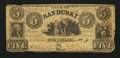 Obsoletes By State:Ohio, Sandusky, OH- Bank of Sandusky $5 Oct. 15, 1842. ...