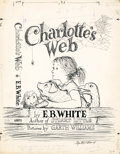 Paintings, GARTH MONTGOMERY WILLIAMS (American, 1912-1996). Charlotte's Web, book cover, 1952. Graphite and ink on paper. 14 x 11 i... (Total: 4 Items)
