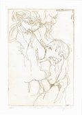 Paintings, SNYDER. Mother and Child. Lithograph, ed. 2/200. 11-1/2in. x 8in.. Signed in pencil at lower right Snyder. ...