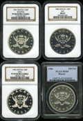 Macao, Macao: 100 Patacas silver Proofs:... (Total: 4 coins)