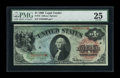 Large Size:Legal Tender Notes, Fr. 18 $1 1869 Legal Tender PMG Very Fine 25....
