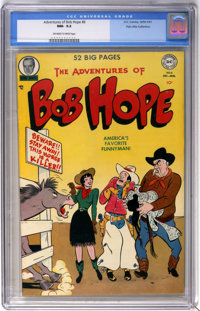 The Adventures of Bob Hope #6 Palo Alto Collection pedigree (DC, 1950) CGC NM- 9.2 Off-white to white pages
