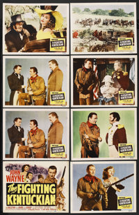 """The Fighting Kentuckian (Republic, 1949). Title Lobby Card and Lobby Cards (7) (11"""" X 14""""). Western. ... (Tota..."""