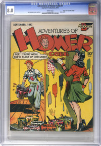 The Adventures of Homer Cobb #1 Mile High pedigree (Say-Bart Productions, 1947) CGC VF 8.0 White pages
