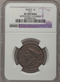 Large Cents, 1823/2 1C --Improperly Cleaned--NGC Details. XF. N-1, Low R.2....