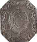 Photography:Daguerreotypes, Brown Octagonal Sixth Plate Thermoplastic Case....