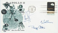 Autographs:Celebrities, Apollo 11 Crew-Signed Moon Landing Cover Obtained Just Days afterTheir Exit from Quarantine....