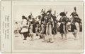 Photography:Cabinet Photos, Buffalo Bill's Wild West Show: Pristine Promotional Cabinet Card Featuring a Ceremonial Indian Dance....