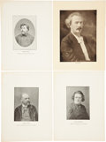 Antiques:Posters & Prints, Lot of 10 Portraits of Eminent Musical Composers. Each measures8.25 inches x 11.25 inches. Composers include Georges Bizet,...