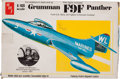 Baseball Collectibles:Others, Ted Williams Grumman F9F Panther 1/48 Scale Model Plane....