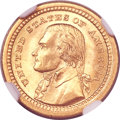 Commemorative Gold, 1903 G$1 Louisiana Purchase/Jefferson MS67 NGC....