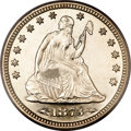 Proof Seated Quarters, 1873 25C Arrows PR65 Cameo PCGS....