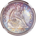 Seated Quarters, 1873-S 25C Arrows MS65 NGC....