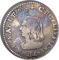 Colonials, (1659) 4PENCE Lord Baltimore Fourpence VF30 PCGS. Hodder 1-A,W-1010, R.6....
