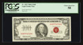 Small Size:Legal Tender Notes, Fr. 1551 $100 1966A Legal Tender Note. PCGS Choice About New 58.. ...