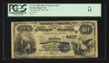 National Bank Notes:Oklahoma, Roff, OK - $10 1882 Date Back Fr. 546 The First NB Ch. # (W)5417. ...