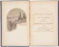 Books:First Editions, Proceedings of the Vermont Historical Society, October 8,1872. Lucius E. Chittenden. The Capture ofTiconderoga...