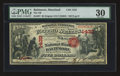 National Bank Notes:Maryland, Baltimore, MD - $5 Original Fr. 397 The NB of Baltimore Ch. # 1432....