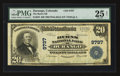 National Bank Notes:Colorado, Durango, CO - $20 1902 Plain Back Fr. 653 The Burns NB Ch. # 9797. ...