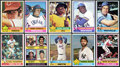 Baseball Cards:Sets, 1976 Topps Baseball High Grade Complete Set (660) Plus Traded Set (44). ...