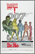 "Movie Posters:James Bond, Dr. No (United Artists, R-1980). One Sheet (27"" X 41""). JamesBond.. ..."