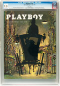 Magazines:Vintage, Playboy V2#5 (HMH Publishing, 1955) CGC FN/VF 7.0 White pages....