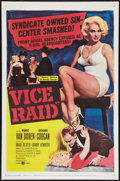 """Movie Posters:Crime, Vice Raid (United Artists, 1960). One Sheet (27"""" X 41""""). Crime....."""