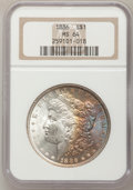 Morgan Dollars: , 1886 $1 MS64 NGC. NGC Census: (43310/22122). PCGS Population (34723/16148). Mintage: 19,963,886. Numismedia Wsl. Price for ...