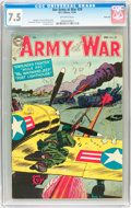 Golden Age (1938-1955):War, Our Army at War #29 River City pedigree (DC, 1954) CGC VF- 7.5Off-white pages....