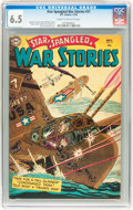 Golden Age (1938-1955):War, Star Spangled War Stories #27 (DC, 1954) CGC FN+ 6.5 Cream tooff-white pages....