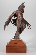 Sculpture, FROM THE COLLECTION OF SUSAN & ALLEN COLES. HOLLIS WILLIFORD (American, 1940-2007). I Fly with the Drums. Bronze. 30 i...