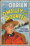 """Movie Posters:Western, O'Malley of the Mounted (20th Century Fox, 1936). One Sheet (27"""" X 41""""). Western.. ..."""