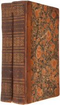 Books:First Editions, [Daniel Defoe]. The Life and Strange Surprizing Adventures ofRobinson Crusoe, of York, Mariner. Who lived...(Total: 2 Items)