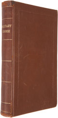 Books:First Editions, Thomas Simes. A Military Course for the Government and Conductof a Battalion,...
