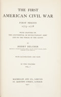 Books:First Editions, Henry Belcher. The First American Civil War, First Period1775-1778. London: Macmillan and Col., 1911. First edition...(Total: 2 Items)