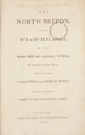 Books:First Editions, [John Wilkes]. The North Briton, from No. I to No. XLVI.[bound with:] An Appendix to the First Forty Six Number...