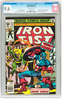 Iron Fist #12 (Marvel, 1977) CGC NM+ 9.6 Off-white pages