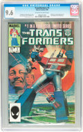 Modern Age (1980-Present):Superhero, Transformers #1 (Marvel, 1984) CGC NM+ 9.6 Off-white to whitepages....