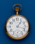 Timepieces:Pocket (post 1900), Illinois Bunn Special, Gold Filled, 18 Size, 21 Jewel. ...